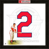 Red Schoendienst St. Louis Cardinals 20x20 Framed Uniframe Jersey Photo