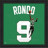 Rajon Rondo Boston Celtics 20x20 Framed Uniframe Jersey Photo