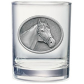 Racehorse Double Old Fashioned Glass Set