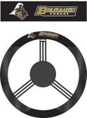Purdue Boilermakers Poly-Suede Steering Wheel Cover