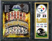 Pittsburgh Steelers Super Bowl XLIII Champions Plaque