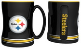 Pittsburgh Steelers Coffee Mug - 15oz Sculpted