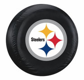 Pittsburgh Steelers Black Logo Tire Cover