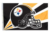 Pittsburgh Steelers 3'x5' Helmet Design Flag