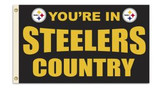 Pittsburgh Steelers 3 Ft. X 5 Ft. Flag w/Grommets 94113B