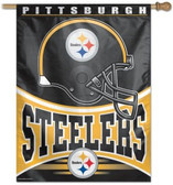 """Pittsburgh Steelers 27""""x37"""" Banner"""