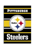 Pittsburgh Steelers 2-Sided 28 x 40 House Banner