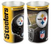 """Pittsburgh Steelers 15"""" Wastebasket"""