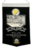 Pittsburgh Pirates Wool Stadium Banner - PNC Park