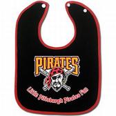 Pittsburgh Pirates Two-Toned Snap Baby Bib