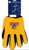 Pittsburgh Pirates Two Tone Gloves - Adult Size