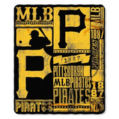 Pittsburgh Pirates 50x60 Fleece Blanket - Strength Design