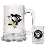 Pittsburgh Penguins Shot Glass and Mug Set