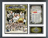 Pittsburgh Penguins 2008-09 Stanley Cup Champions Milestones & Memories Framed Photo