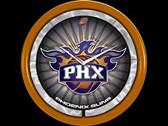 Phoenix Suns Plasma Clock