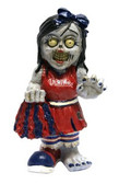 Philadelphia Phillies Zombie Cheerleader Figurine