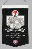 Philadelphia Phillies Wool Stadium Banner - Citizens Bank Park
