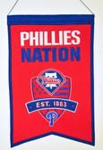 Philadelphia Phillies Wool Nations Banner
