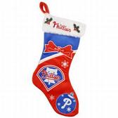 "Philadelphia Phillies Stocking - 17"" Color Block 2010"