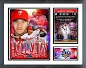 Philadelphia Phillies Roy Halladay 2nd No-Hitter in Postseason History Milestones & Memories Frames Photo