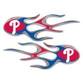 Philadelphia Phillies Micro Flames Graphics