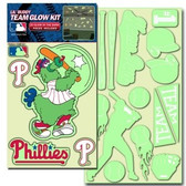 Philadelphia Phillies Lil' Buddy Glow In The Dark Decal Kit