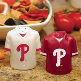 Philadelphia Phillies Gameday Jersey Salt and Pepper Shakers