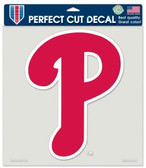 "Philadelphia Phillies Die-Cut Decal - 8""x8"" Color"