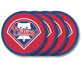 Philadelphia Phillies Coaster Set - 4 Pack