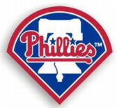 "Philadelphia Phillies 12"" Car Magnet"