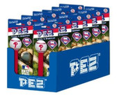 Philadelphia Phillies 12 Packs of MLB Pez Candy Dispenser