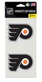 Philadelphia Flyers Set of 2 Die Cut Decals