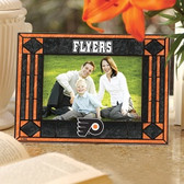 Philadelphia Flyers Art Glass Horizontal Picture Frame