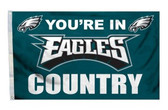 Philadelphia Eagles 3'x5' Country Design Flag