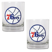 Philadelphia 76ers Rocks Glass Set