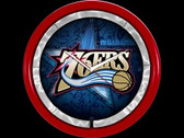 Philadelphia 76ers Plasma Clock