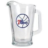 Philadelphia 76ers 60oz Glass Pitcher