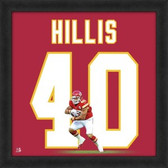 Peyton Hillis Kansas City Chiefs 20x20 Framed Uniframe Jersey Photo