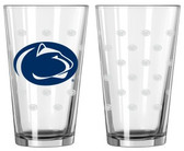 Penn State Nittany Lions Satin Etch Pint Glass Set