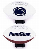 Penn State Nittany Lions Full Size Embroidered Football