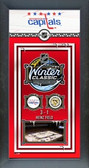 Penguins vs Capitals Winter Classic Heinz Field 2011 Framed Banner