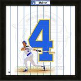 Paul Molitor Milwaukee Brewers 20x20 Framed Uniframe Jersey Photo