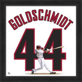 Paul Goldschmidt Arizona Diamondbacks 20x20 Framed Uniframe Jersey Photo