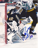 Patrick Lalime Pittsburgh Penguins Signed 8x10 Photo
