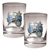 Orlando Magic Rocks Glass Set