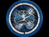 Orlando Magic Plasma Clock