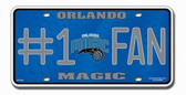 Orlando Magic License Plate - #1 Fan