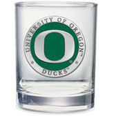 Oregon Ducks Double Old Fashioned Glass Set