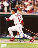 Omar Vizquel Cleveland Indians Signed 8x10 Photo #4