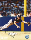 Omar Vizquel Cleveland Indians Signed 8x10 Photo #2